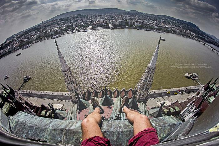 Место с выгодным видом на Дунай. Автор фото: Tamas Rizsavi.