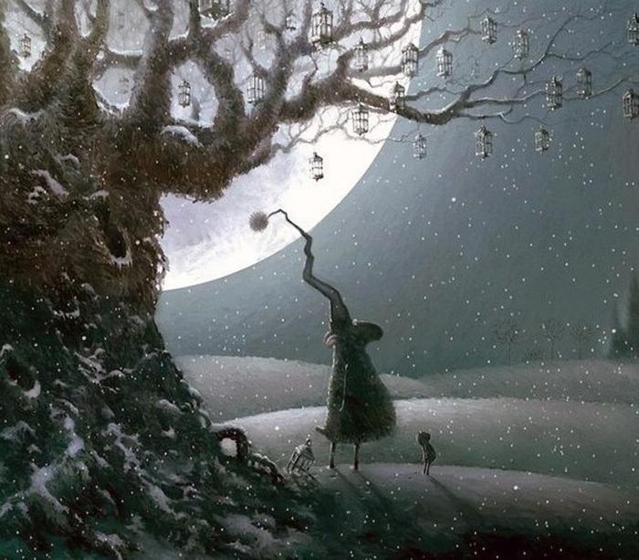 Ночные приключения барашка Рассела. Автор: Rob Scotton.