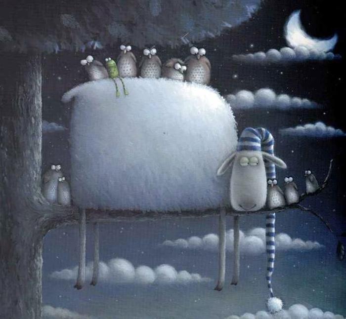 Время спать и видеть сны. Автор: Rob Scotton.