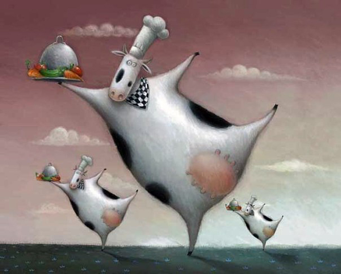 Детские иллюстрации Роба Скоттона.
