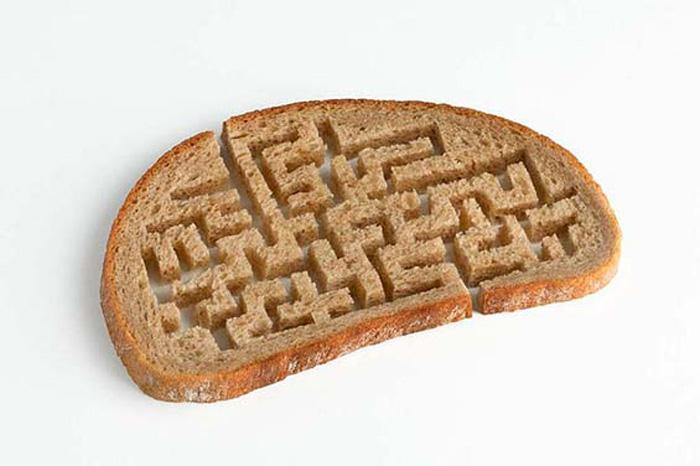 Хлебный лабиринт.