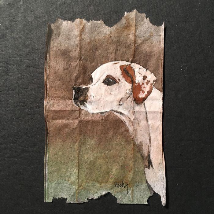 Охотничья собака. Автор: Ruby Silvious.