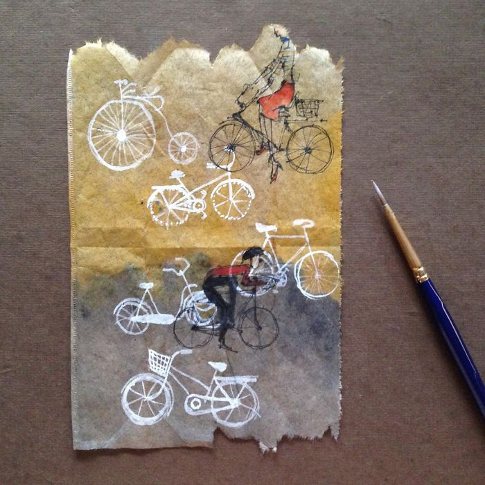 Велосипед. Автор: Ruby Silvious.