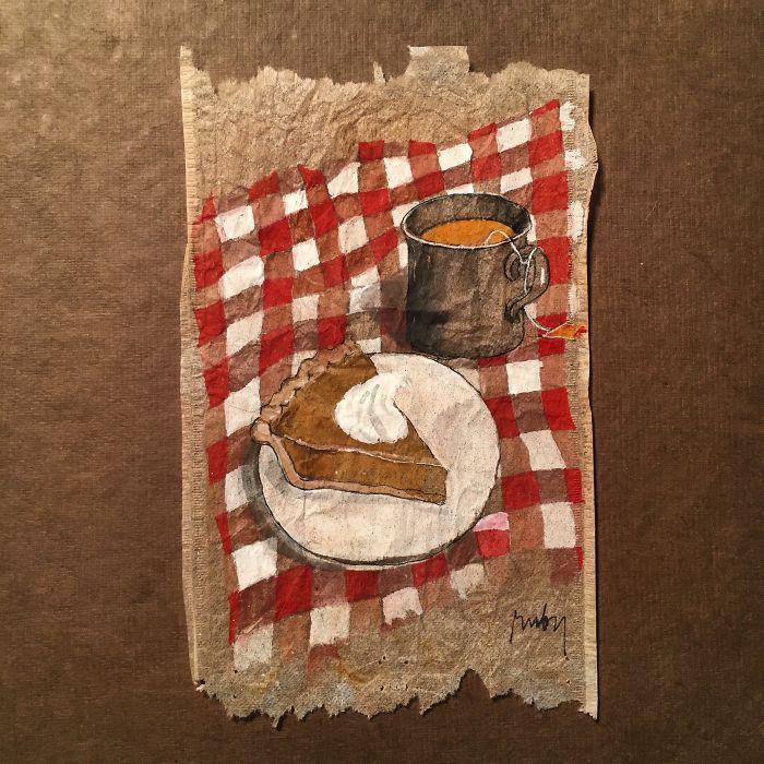 Чай с тортиком. Автор: Ruby Silvious.