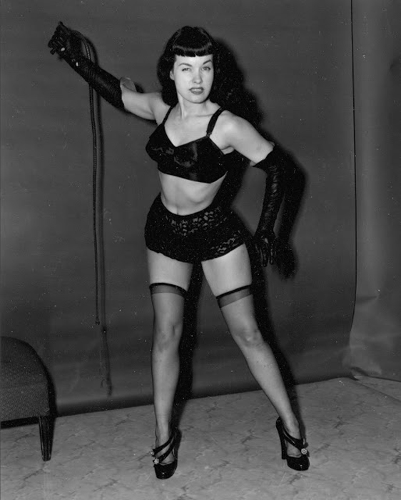 Bettie Page, ��� �� ��������� ��� ������������ ����� �����.