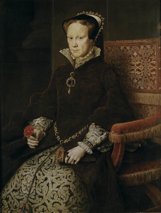 Mary I of England, известная как Кровавая Мэри.