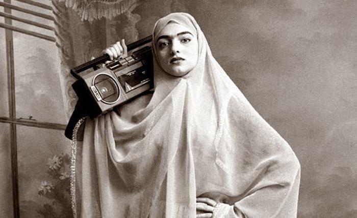 Проект Qajar от женщины-фотографа из Ирана.
