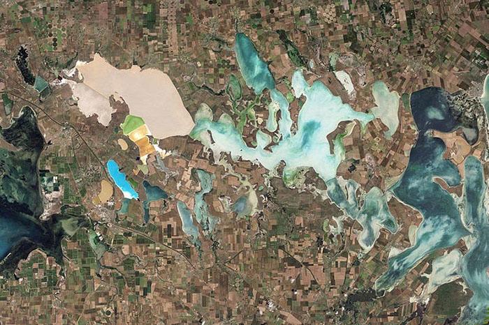 Снимок со спутника.