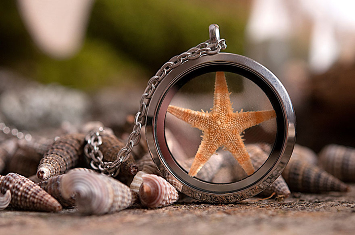 Кулон *Морская звезда*.