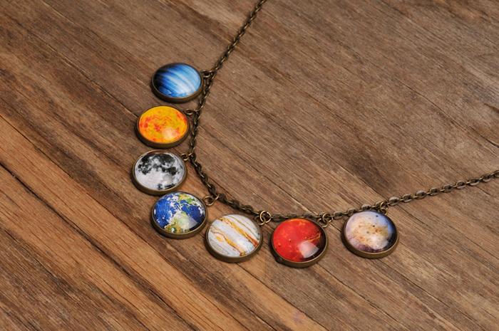 Ожерелье *Девять планет*.