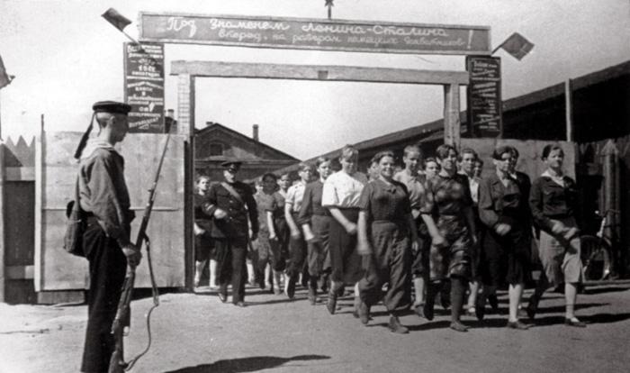 Советские женщины, добровольно вызвавшиеся вступить в ряды советской армии.