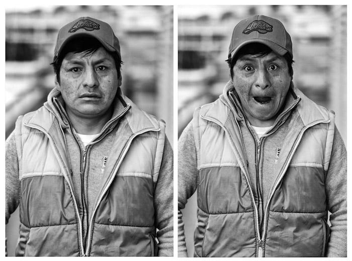 Оскар. Шахтер. Потоси, Боливия.