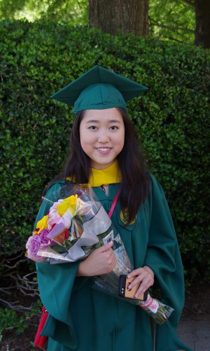 В 13 лет Стефани уже получила степень бакалавра.