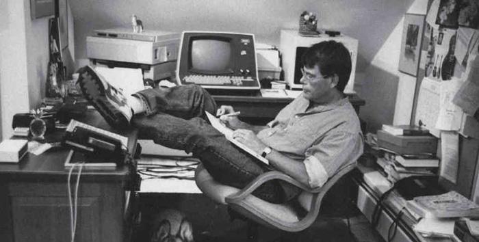 Stephen King: в углу на чердаке.