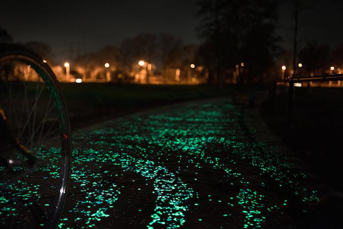 Велосипедная дорожка Ван Гога-Розегарда в Нидерландах.