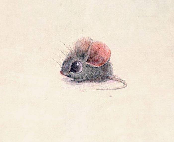 Мышка. Автор: Syndey Hanson.