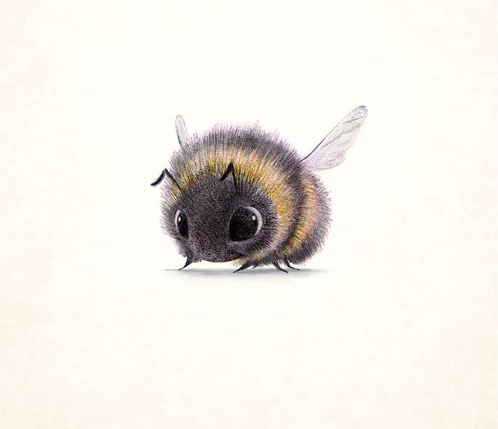 Пчелка. Автор: Syndey Hanson.