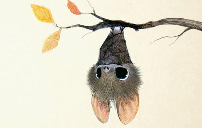 Летучая мышка. Автор: Syndey Hanson.