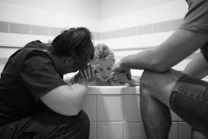 Будущие родители в больнице. Фото: River&Bel.