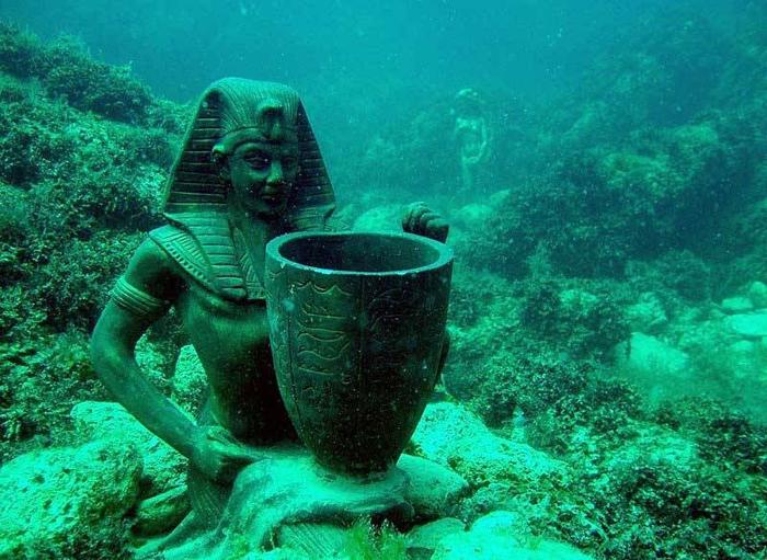 Подводный музей Тарханкут.