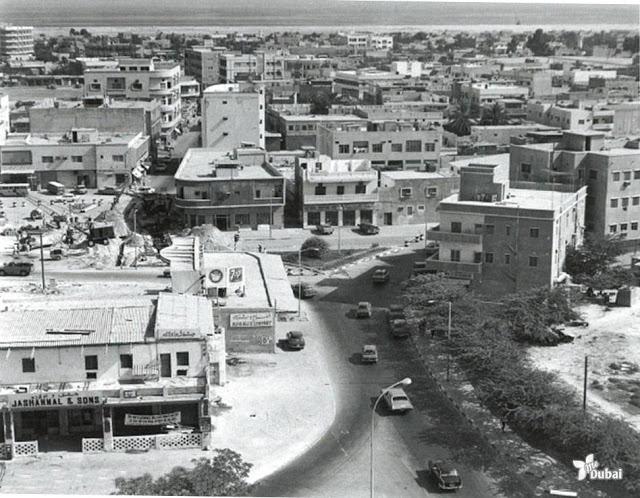 Первый магазин  Jashanmal  в Дубае. 1956г.