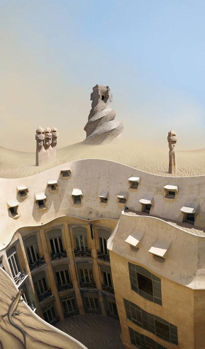 Пустыня Гауди.