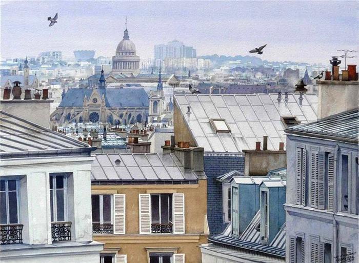 Картины Тьерри Дюваля.