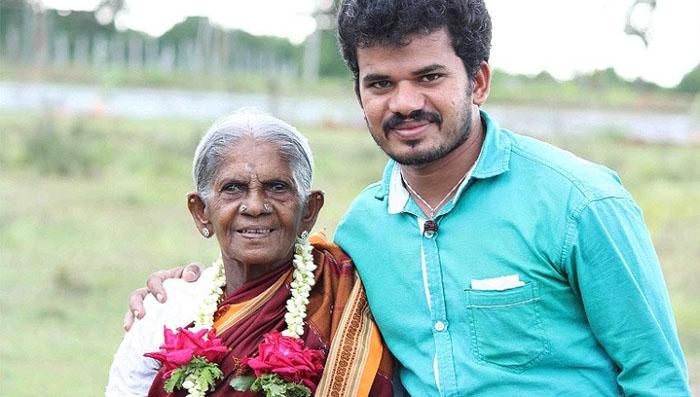 Саалумарада и ее приемный сын Шри Умеш.