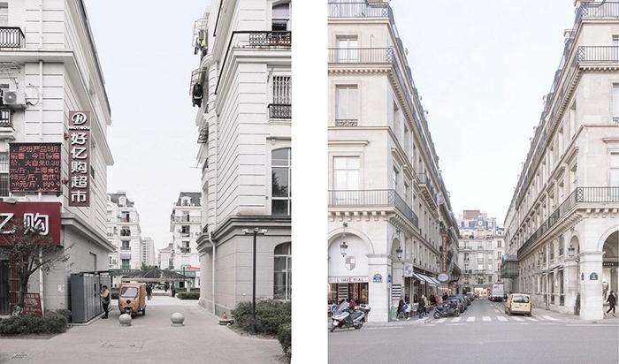 В Китае воссозданы почти все детали центра Парижа.  Фото: Francois Prost.