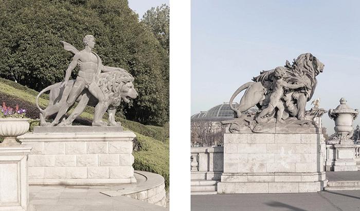 Китайским аналогам статуй определенно не хватает изящности.  Фото: Francois Prost.