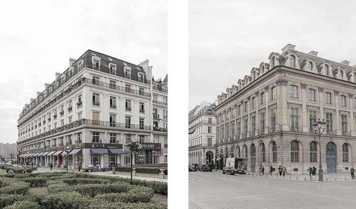 Почти точная копия центра Парижа.  Фото: Francois Prost.
