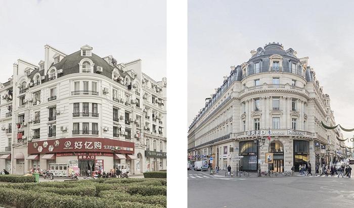 Копии самых больших домов.  Фото: Francois Prost.
