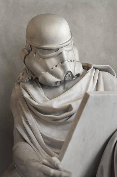 Герои Звездных Войн в новом образе. Автор: Travis Durden.