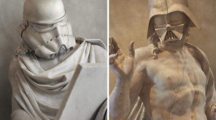 Греческие герои Звездных войн.