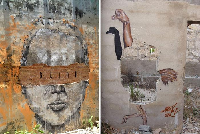 Работы художника из Бангкока Sath.