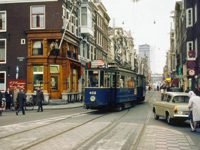 Улица Utrechtsestraat, 1967г.
