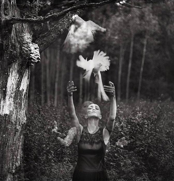 Черно-белые портреты Viktorija Raggana.
