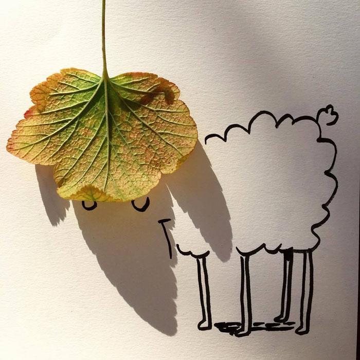 Осенний барашек. Автор: Vincent Bal.
