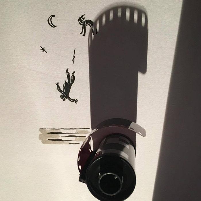 Падая с высоты 35mm. Автор: Vincent Bal.