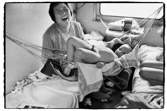 С детьми веселее.  Фото: Wang Fuchun.