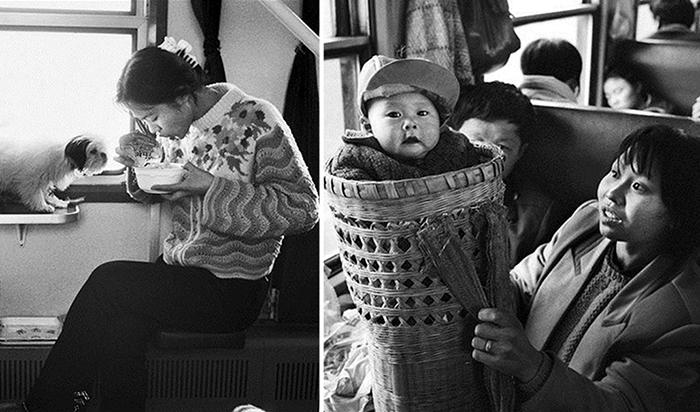 Фотографии из китайских поездов.
