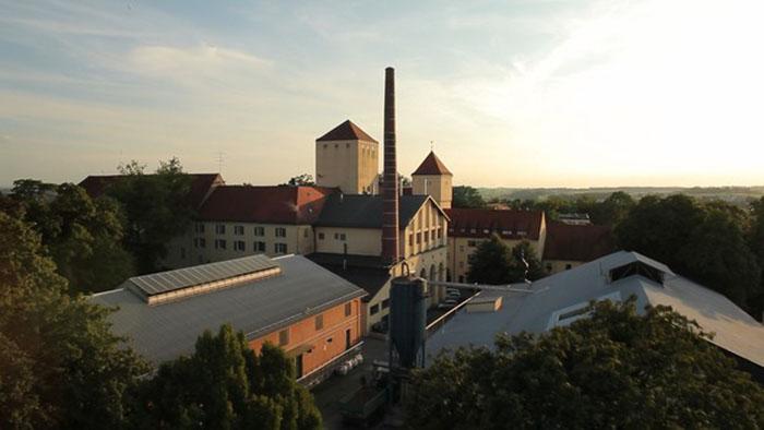 Пивоварня Weihenstephan.