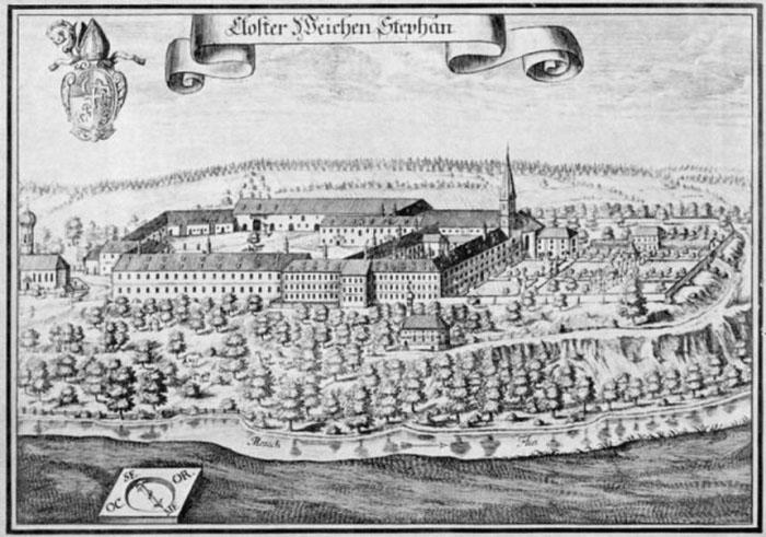 Монастырь Weihenstephan.