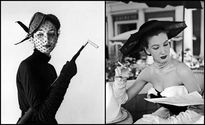 Элегантные модели Dior в объективе Вилли Мэйвальда.