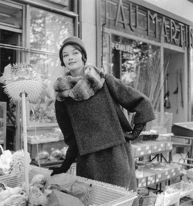 Фотографии моды в 1940-60х годах. Автор фото: Willy Maywald.
