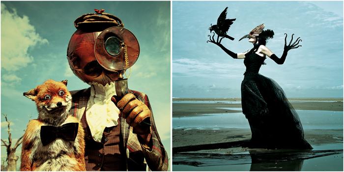 Жуткий мир  Wounderland от бельгийской творческой пары.