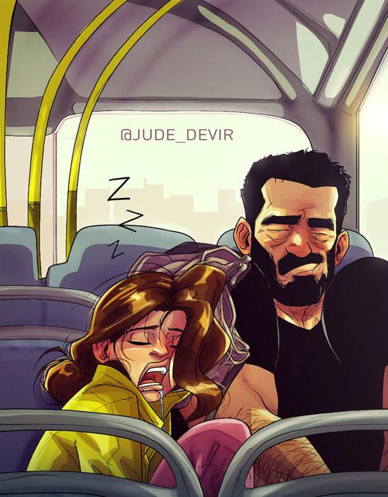 Возвращаясь домой. Автор: Yehuda Adi Devir.