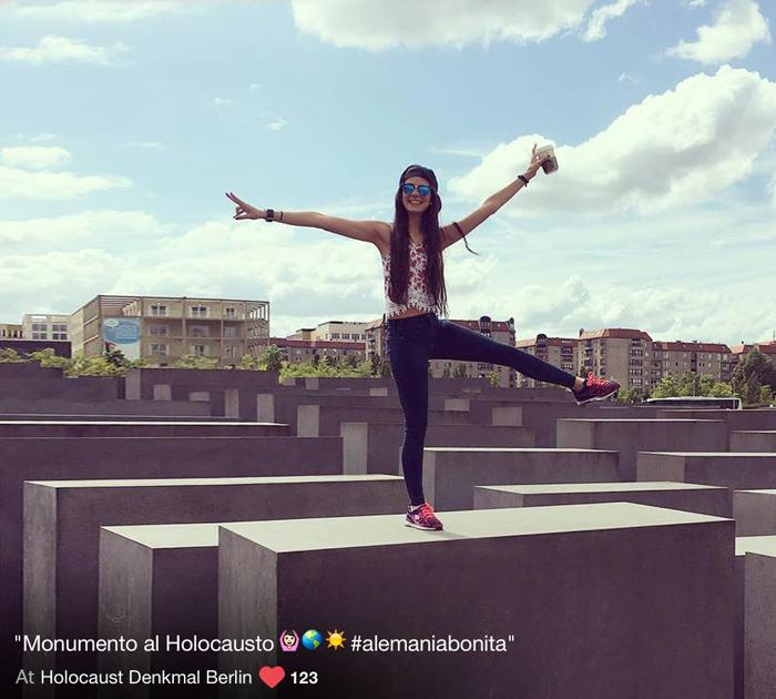 Монумент холокоста. #красиваягермания.