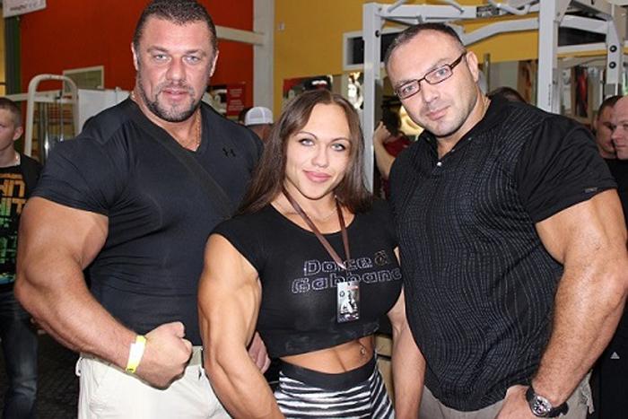 Михаил Сидорычев, Наталья Трухина и ее муж Владислав.
