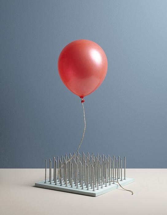 Воздушный шарик. Автор фото: Aaron Tilley.